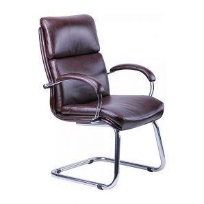 Кресло AMF Техас CF Хром Мадрас дарк браун 63x73x103 см