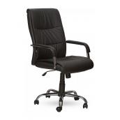 Кресло AMF Рио HB PU черный 69x59x92 см