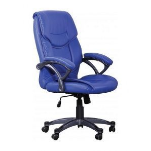 Кресло AMF Фокси HB PU голубой 70x65x88 см