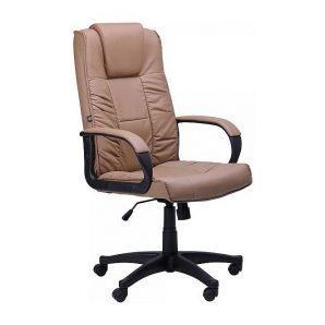 Кресло AMF Тулуза HB PU бежевый 65x65x116 см