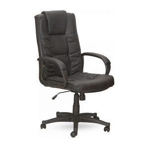 Кресло AMF Тулуза HB PU черный 65x65x116 см