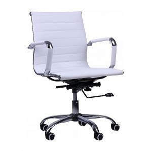 Кресло AMF Слим LB PU белый