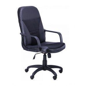 Кресло AMF Анкор Пластик Скаден черный 65x81x113 см сетка черная