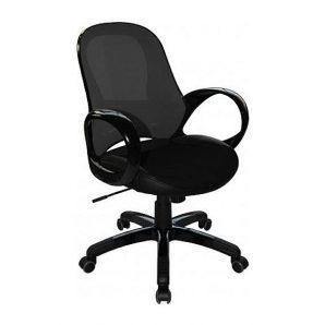 Кресло AMF Матрикс-LB сетка черная/сетка черная 65x65x92 см черный