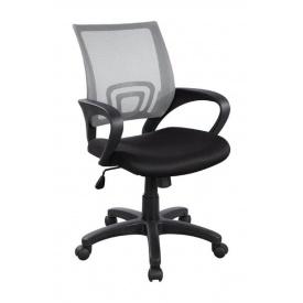 Крісло AMF Веб сітка чорна/сітка сіра 65x65x90 см