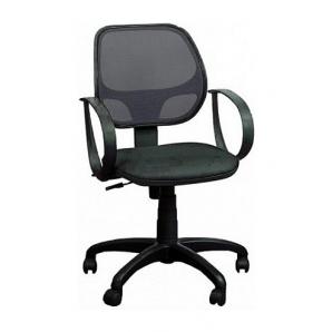 Кресло AMF Бит АМФ-8 сетка черная 64x64x90 см