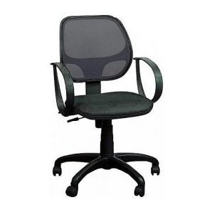 Кресло AMF Бит АМФ-7 сетка черная 64x64x90 см