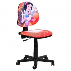 Детское кресло AMF Актив Дисней Белоснежка 590x590x850 мм красный