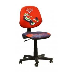 Детское кресло AMF Актив Дисней Тачки Молния Франческо Бернулли 590x590x850 мм красный