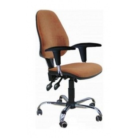Кресло AMF Бридж Хром Розана-143 64x64x88 см