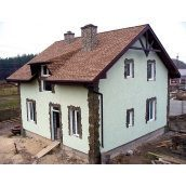 Утеплення фасаду заміського будинку