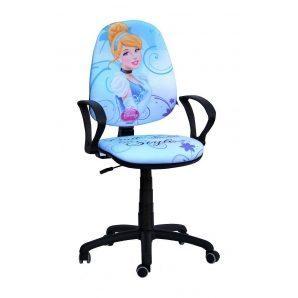 Кресло детское AMF Поло 50/АМФ-4 Дисней Принцесса Золушка 670х670х1060 мм