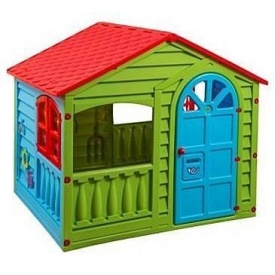 Дитячий ігровий будиночок PalPlay Happy House 130x109x115 см