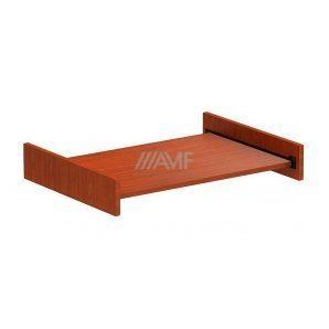 Полка для клавиатуры AMF Стиль SL-503 710х440х110 мм яблоня