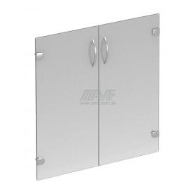 Двери стеклянные AMF Стиль SL-802 718х4х709 мм