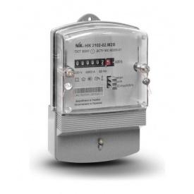 Лічильник електроенергії NIK 2102-02 М2В однофазний електромеханічний 220В