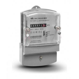 Счетчик электроэнергии NIK 2102-02 М2В однофазный электромеханический 220В