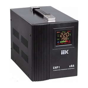 Стабилизатор напряжения IEK СНР1-0-2 электронный переносной 2 кВА