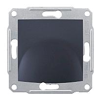 Кабельная розетка Schneider Electric Sedna SDN5500170 71х71х48 мм графит