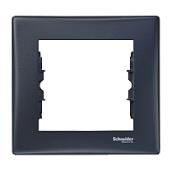 Рамка Schneider Electric Sedna SDN5800170 горизонтальная 80х85х7 мм графит
