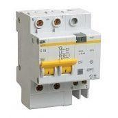 Диференціальний автомат IEK АД12 2Р 32 А 10 мA