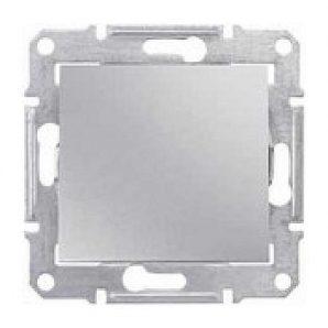 Переключатель одноклавишный Schneider Electric Sedna SDN0400460 16 А 71х71х42 мм алюминий
