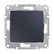 Переключатель одноклавишный Schneider Electric Sedna SDN0400470 16 А 71х71х42 мм графит