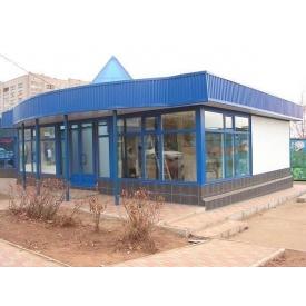 Зварювальні роботи при будівництві торгової будівлі