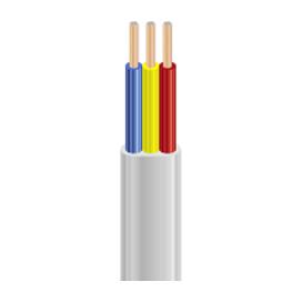 Шнур для бытовых электроприборов ШВВП ЗЗЦМ 3х2,5