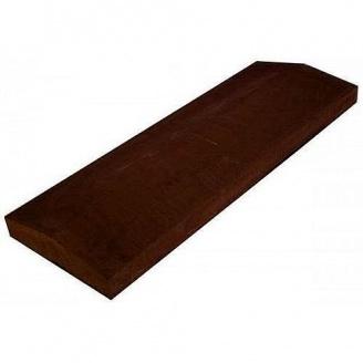 Кришка для забору 1000х450х50 мм коричневе