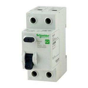 Дифференциальный выключатель УЗО Schneider Electric Easy9 ЕZ9 2Р 25А 30мА