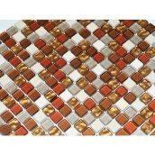 Мозаика мрамор стекло VIVACER CS08, 30х30 cм