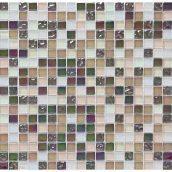 Мозаика мрамор стекло VIVACER 1,5х1,5 HCB01 30х30 cм
