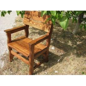 Кресло деревянное Тик
