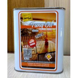 Тунгова масло Tung Oil для наружных работ 0.75 л