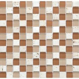 Мозаика мрамор стекло VIVACER 2,3х2,3 CS11 30х30 cм