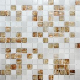 Мозаика Авантюрин VIVACER GLmix43 32,7х32,7 cм