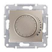 Светорегулятор Schneider Electric Sedna SDN2200468 поворотный индуктивный титан