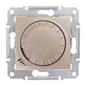 Светорегулятор Schneider Electric Sedna SDN2200868 поворотно-нажимной универсальный титан