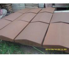 Кришка для парапету 1000х400х65 мм коричнева