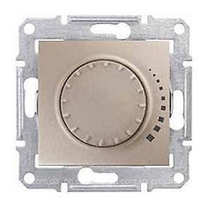 Светорегулятор Schneider Electric Sedna SDN2200768 поворотно-нажимной емкостный титан