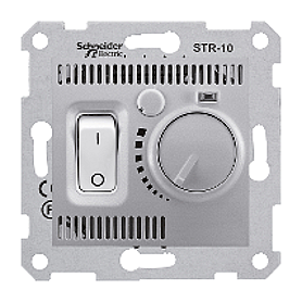 Термостат Schneider Electric Sedna SDN6000160 алюминий