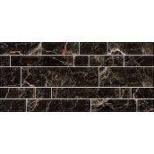 Керамическая плитка Inter Cerama PLAZA для стен 23x50 см черный