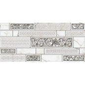 Декор Inter Cerama PLAZA 23x50 см серый