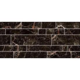 Керамічна плитка Inter Cerama PLAZA для стін 23x50 см чорний