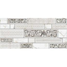 Декор Inter Cerama PLAZA 23x50 см сірий