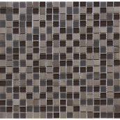 Мозаика мрамор стекло VIVACER SYNmix01 1,5х1,5 см 30,15х30,15 cм