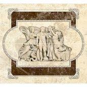 Декор-панно Inter Cerama EMPERADOR 46x50 см коричневый (П 66 031)