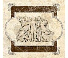 Декор-панно Inter Cerama EMPERADOR 46x50 см коричневий (П 66 031)