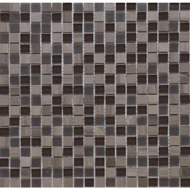 Мозаїка мармур скло VIVACER SYNmix01 1,5х1,5 см 30,15х30,15 см